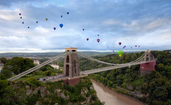 Things to do outdoors in Bristol