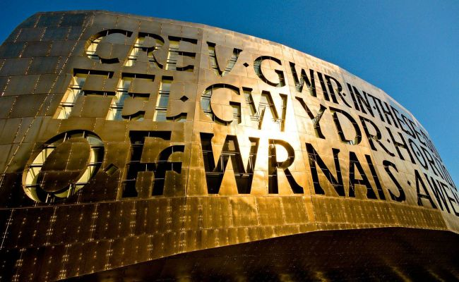 We are going over the edge! Abseiling down the Wales Millennium Centre