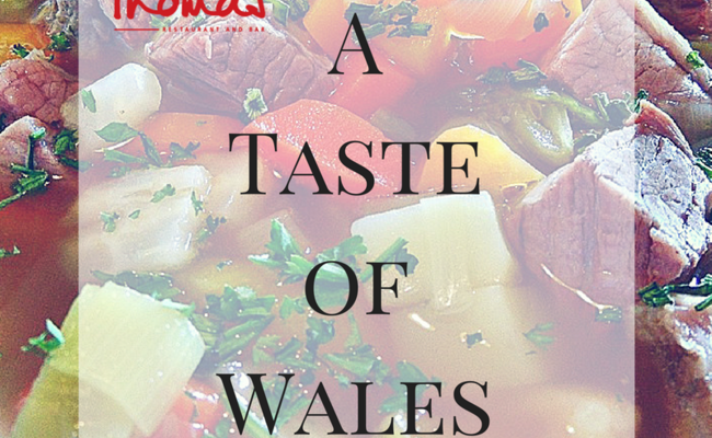 Taste Wales at the Thomas Restaurant