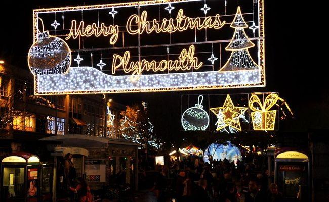Celebrate Christmas in Plymouth in 2018