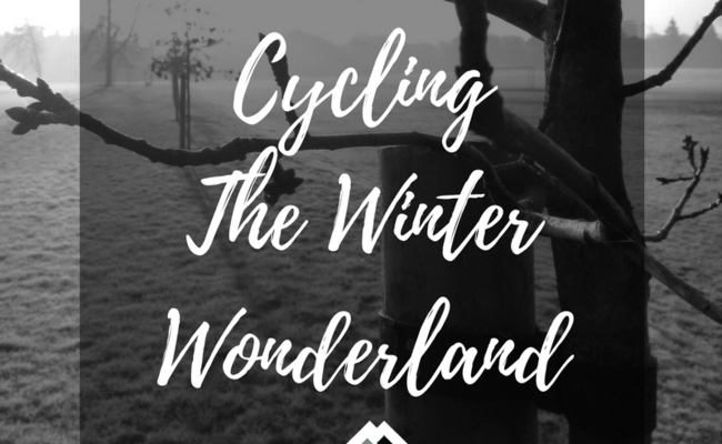 Cycling The Winter Wonderland