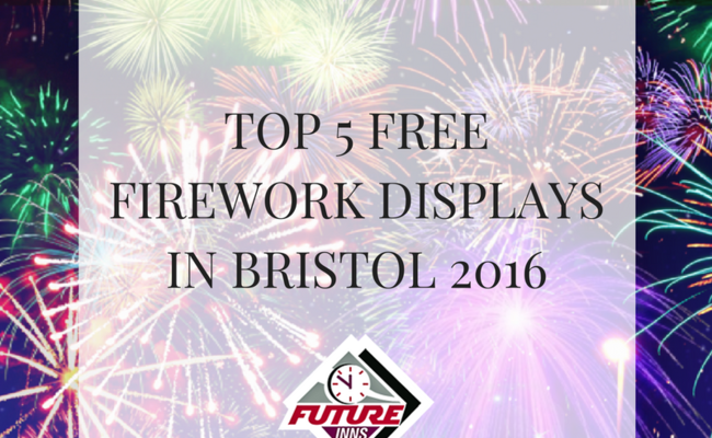 Top Five Free Firework Displays in Bristol 2016