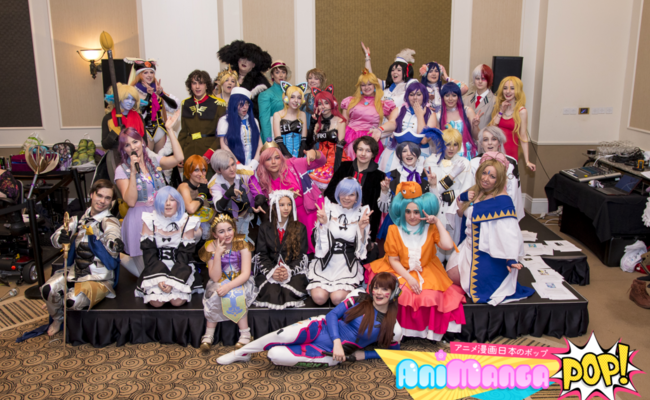Animangapop - The South Wests longest running Anime convention