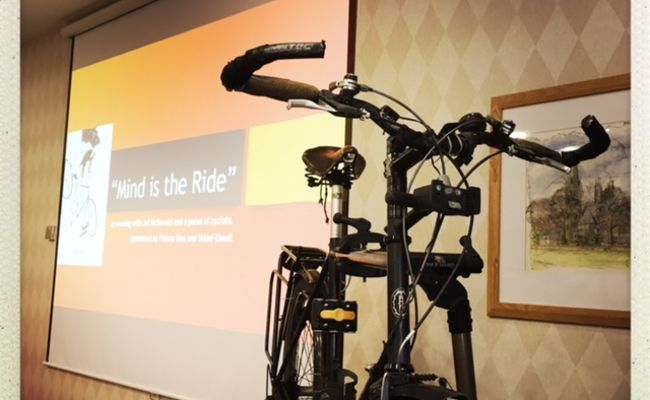 A Review of the Jet Mcdonald Talk 'Mind is the Ride' by Simon Nurse